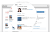 LinkedIn Integration with Microsoft Dynamcs CRM. Image courtesy LinkedIn.