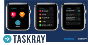 Salesforce.com unloads new enterprise apps for Apple Watch